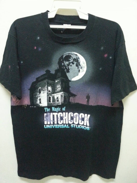 1991 The Hitchcock Adventure 90s Shirts Vintage Size Magic of Large in T Horror Made Thriller Movie Usa ffwxqrtp