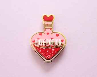 Love Potion Enamel Pin