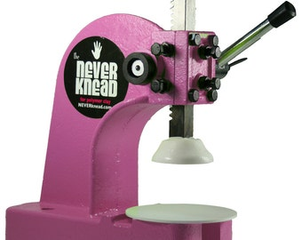 HOT PINK NEVERknead Conditioning Tool - Knead the EASY Way - Works with all polyclay Sculpey Fimo Cernit Pavelka + Doll Sculpting Pavelka