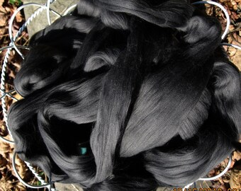 Carbonized Bamboo Top Spinning Felting