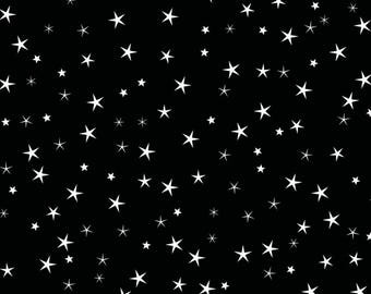 Star Gift Wrapping Paper - Black