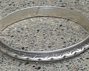 old tribal silver bracelet from south Morrocco