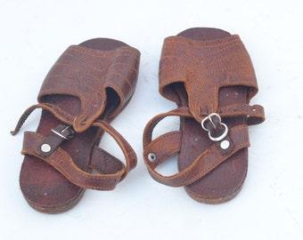 Handmade Leather Kid's Toddler Unisex Sandals