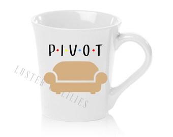 "16oz ""Pivot"" Friends Themed Mug"