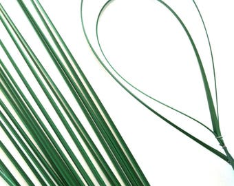 50 x Artificial Flexible Bear Onion Grass. Perfect for Corsages, Buttonholes, and Bouquets