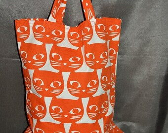 SHOPPER cats Tote Bag by hand