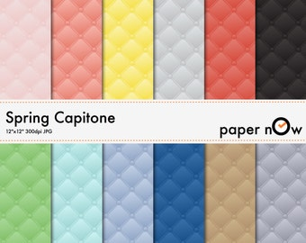Capitone Digital Paper, Capitone Panel Digital Paper, Smocking Digital Paper, Victorian Digital Paper - Instant Download