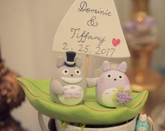 cake topper---Custom Order Deposit for the lovely Wedding Cake Topper (K122)