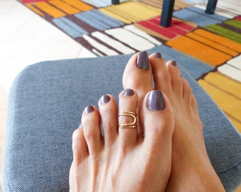 Gold Filled Toe Ring//Toe Rings//Body Jewelry//Women Rings//Handmade Jewelry//Summer Jewelry