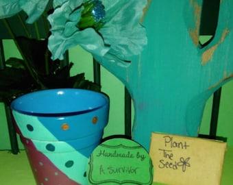 Whimsical Pot