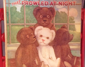 The Teddy Bear That Prowled at Night 1924 Pictures for the Nursery Wall Hangings