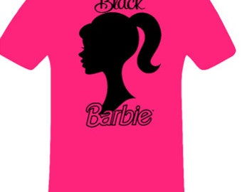 Black Barbie shirt