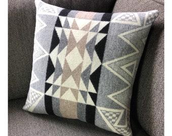 Diamond Ridge Throw Pillow Made with Pendleton Wool