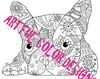 French Bulldog Dog Coloring Page Printable Download For Lovers Of All Ages