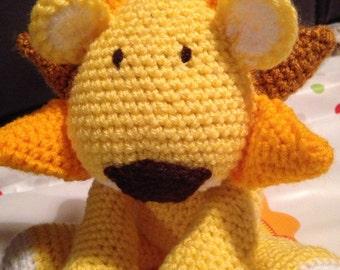 Cute Lion Soft Toy