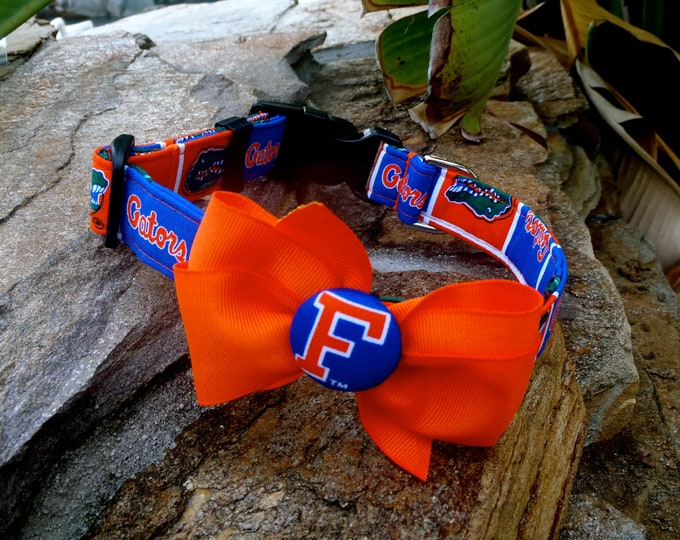 UF Collar With Bow