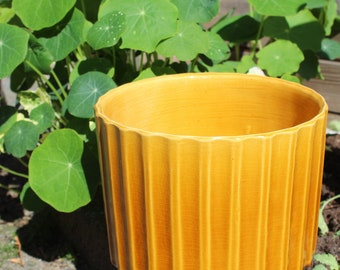 Vintage ceramic planter / pot by Adco