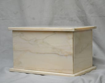 Pink Cremation Urn Marble
