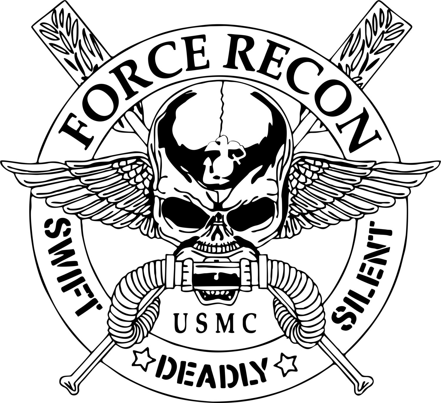 Marine Corps Semper Fi Devil Dog Decal - 18418