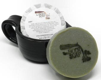 Dirt Beer Soap Made with Sam Adams Irish Red Ale