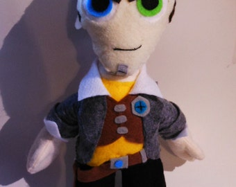 Handsome Jack Plush (Borderlands 2)