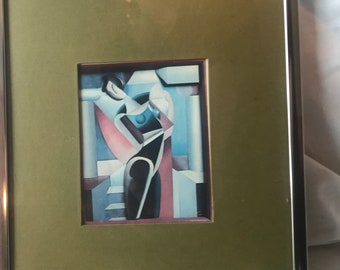 Alexander Archipenko signed reproduction