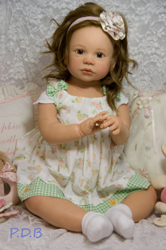 Custom Order Reborn Toddler Doll Baby Girl Or Boy Gabriella By