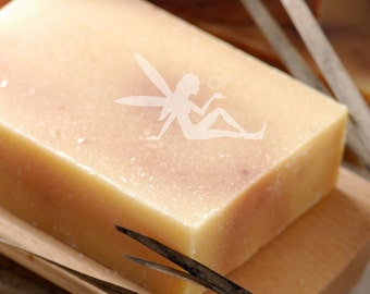 Ginger Grass and Silk Natural Handmade Coconut Milk Soap Bar