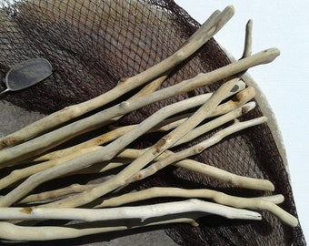 12 pieces 15''- 17''[38-43cm]. Quality driftwood. Driftwood for various crafts and decoration. DIY driftwood.