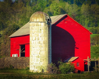 Barn Print, Farm Pictures, Barn Picture, Farm Prints, Barn Photography, Red Barn, Farm Picture, Barn Prints, Country Decor, Barn Photo, Farm