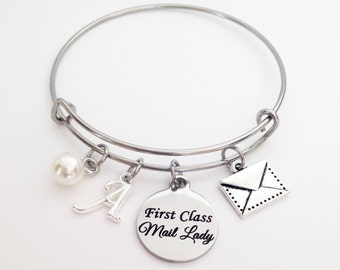 Mail Lady Gift, Mail Carrier Gifts, Mailman Gift, Mailman Thank you, Postal Worker Gifts, Postal Workers, Mail Lady Bracelet, Mail Carrier