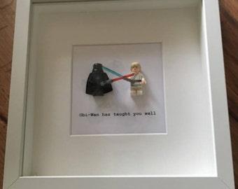 Star Wars Darth Vader and Luke Skywalker picture