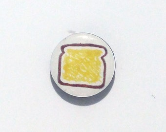 Toast Refrigerator Magnet / Fridge Magnet / Toast Magnet / Breakfast