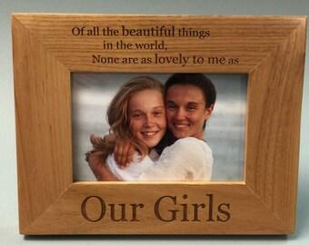 Our Girls Frame