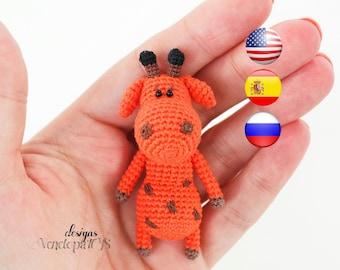 Pattern Baby Giraffe, amigurumi crochet giraffe, crochet giraffe pattern, amigurumi PDF pattern, giraffe pattern, Instant download