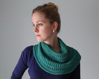 Luna Viridis Cowl Kit - Contains: PDF Pattern and One Skein of Celeste Yarn in Colorway of Choice