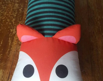 Super cuddly fox pillow