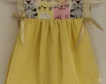 Kitchen Dress Towel, Hanging Hand Towel, Kitchen Towel, Handmade dress Towel, Dress Towel. Gift Towel, Gift
