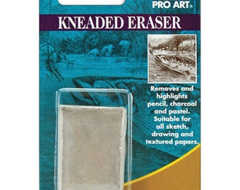 Pro Art Kneaded Eraser for Charcoal, Pencil, Pastels
