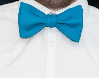 Bow Tie // Man of Teal