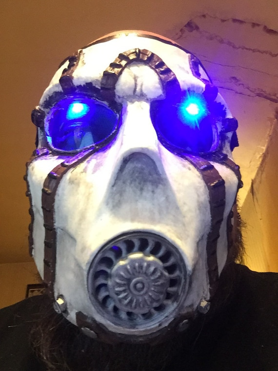 Psycho bandit borderlands led mask complete do it yourself kit solutioingenieria Image collections
