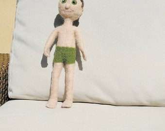 Doll with Green costume