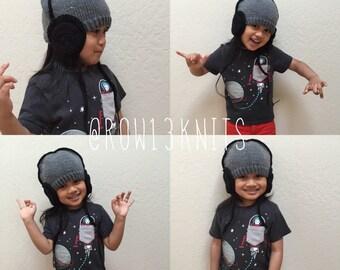 Headphone Beanie   Child