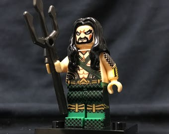 Aquaman Minifigure DC Superheroes Custom Minifigures