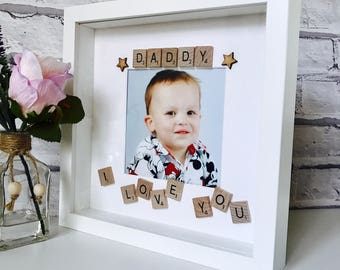 Best Daddy Gift, Daddy Frame, Best Dad Frame, Personalised Frame, New Daddy Picture Frame, Personalised Fathers Day Gift, Daddys Love Frame