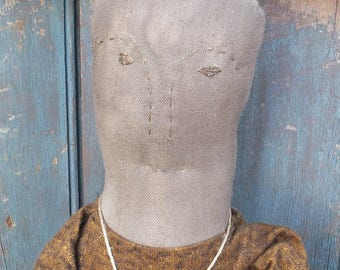 Primitive Cloth Doll - Marigold