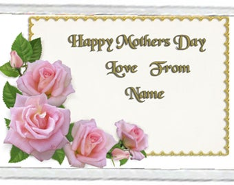 Mother's Day Acrylic Fridge Magnet Number 1