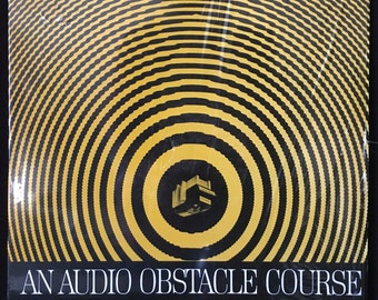 Shure Audio Obstacle Course LP Rare Awesome Psychedelic Cover