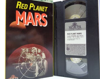 Red planet Mars VHS Tape