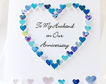 Anniversary husband etsy more colors to my husband on our anniversary m4hsunfo